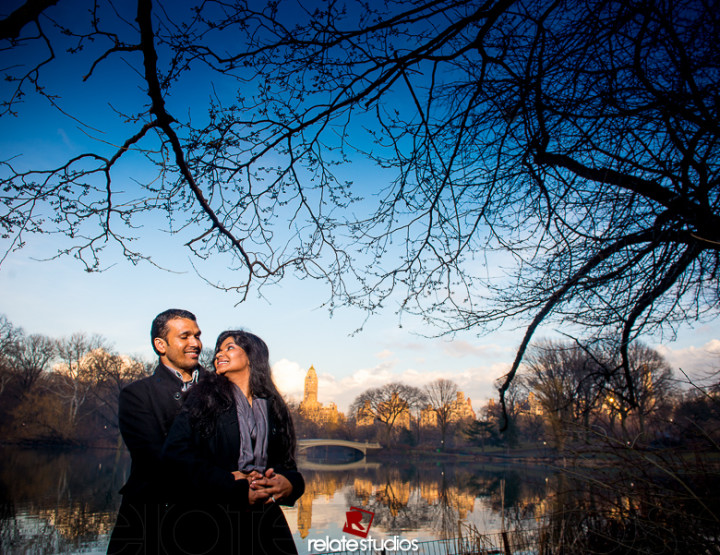 Nick & Sangeeta Couple Shoot | Central Park , New York