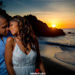 Dennis & Ayanna | Petit Trou Lagoon & Black Rock Beach Engagement, Tobago